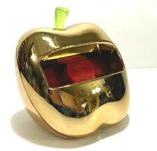Htf Post It Pop Up Note Dispenser Gold Apple Paperweight Teacher Gift