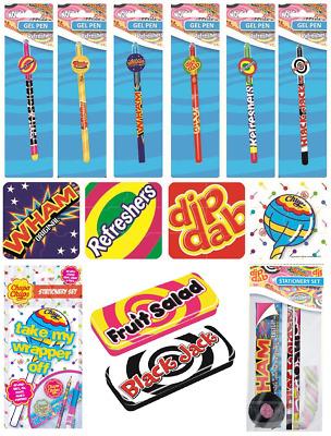 CHUPA CHUPS Retro Sweets SWIZZELS Stationery Novelty Xmas Birthday Gifts Set