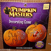 Pumpkin Masters Decorating Gems - 2013 Edition - Unused Package