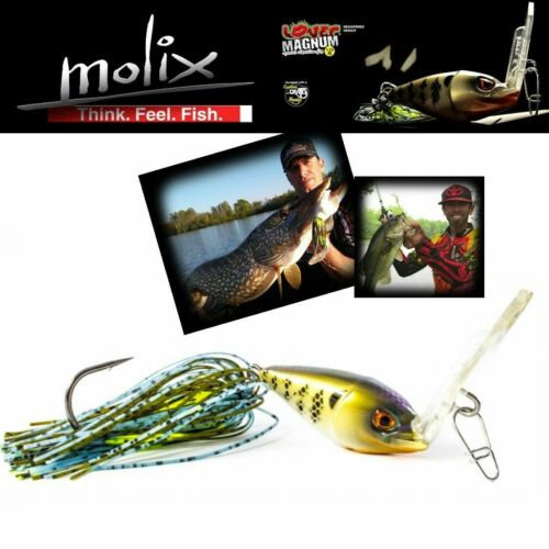 Molix Special Vibration Jig By Mike Iaconelli Lover Magnum 1.1//2Oz