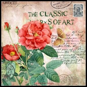 Classic-Vintage-Flower-15-Counted-Cross-Stitch-Patterns-Chart-Needlework