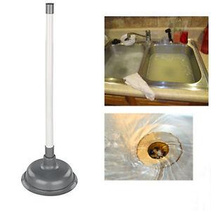 sink plunger 42cm long elliott basin drain clearing. Black Bedroom Furniture Sets. Home Design Ideas
