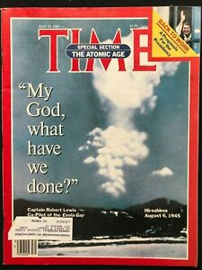 TIME-MAGAZINE-July-29-1985-NUCLEAR-WEAPONS-Hiroshima-Ronald-Reagan-Mars