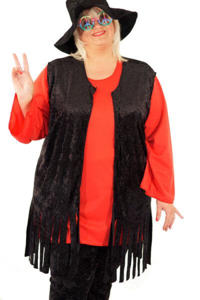 1960's-1970's - Accesorio Hippy Borla Chaleco Elaborado Vestido-todos Los Tamaños-colores-hippy Tassel Waistcoat Fancy Dress Accessory-all Sizes-coloursver Lustroso