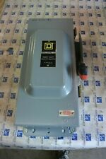 Square D Hu363awk 100 Amp 600 Volt Non Fused Nema 12 Dust Tight Disconnect