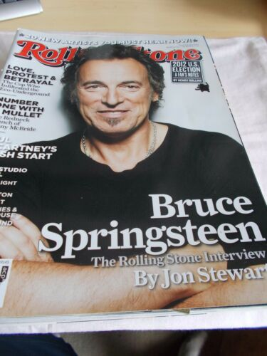 BRUCE SPRINGSTEEN OZ ROLLING STONE MAGAZINE#7262012PAUL MCCARTNEYGRIMES