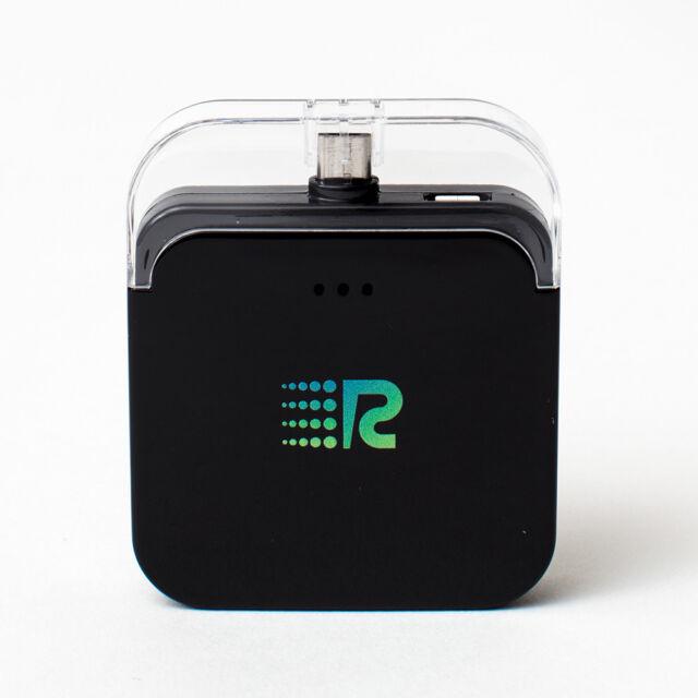 Rush Charge Powerbank IOS 1800mAh iPhone Ladegerät Externer Zusatz Akku schwarz