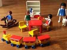 Playmobil Kinderzimmer Babyzimmer Zug nostalgie nosatlgisch 3417