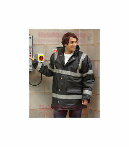 yoko sicherheit jacke wasserdicht arbeits kittel herren parka s m l xl 2xl ebay. Black Bedroom Furniture Sets. Home Design Ideas