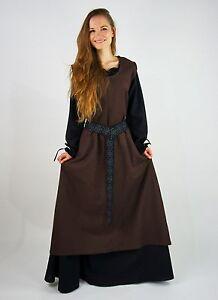 Überkleid Zu L Bäuerlich M Xxxl Kostüm Details Xxl S Xl Kleid Braun Gewandung Mittelalter Nn0XZ8OkwP