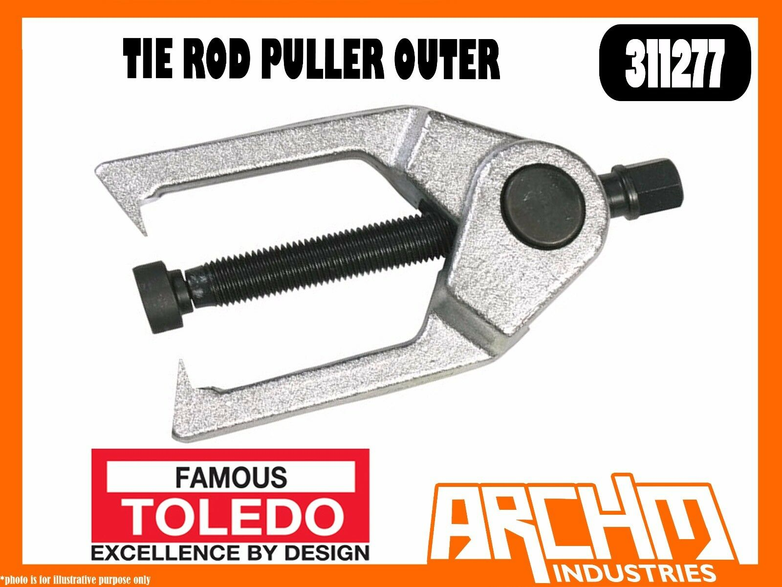 TOLEDO 311277 - TIE ROD PULLER OUTER - TIE ROD ENDS BALL JOINTS BEARING GEARS