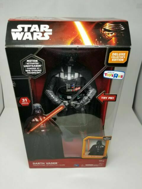 Star Wars The Force Awakens Darth Vader Talking Action Figure