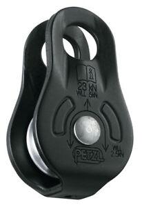 PETZL FIXE black- Versatile compact pulley