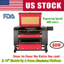 Us Stock 2820 Efr 80w Co2 Laser Engraving Engraver And Cutter Machine Fdaampce