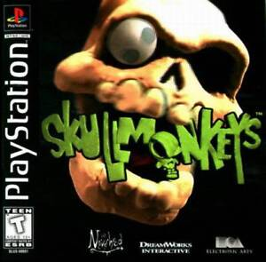 Skull-Monkeys-PS1-Great-Condition-Fast-Shipping