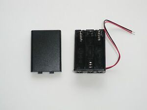4.5 volt power supply 3xAA wired battery holder