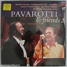 Luciano PAVAROTTI & friends 2  Andrea BOCELLI Bryan ADAMS GIORGIA  Laserdisc
