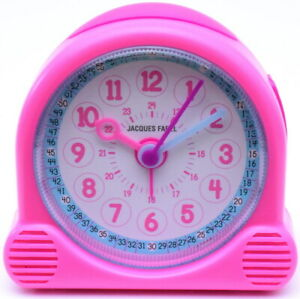 JACQUES FAREL Kids Happy Learning Kinder-Wecker Lernwecker ACL 01 pink
