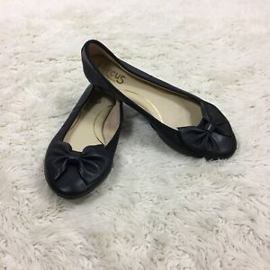 Circus-Sam-Edelman-Women-s-Size-8-M-Ballet-Flats-Black-Wonderlast-Carmen-E5