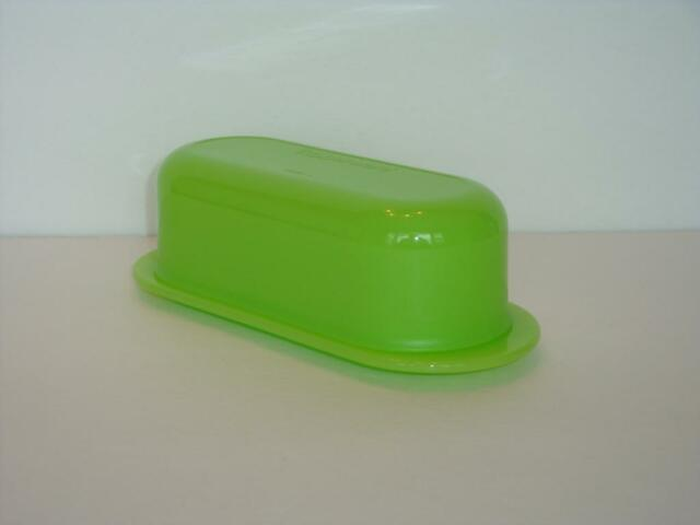 Tupperware Butter Dish & Lid Impressions Collection Rare Host Green New
