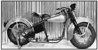 Replica Harley Davidson Knucklehead Rolling Chassis Kit Restoration Finish