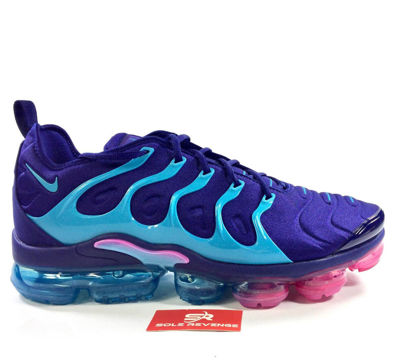 New Nike Air Vapormax Plus - V6079500  Regency Purple Light bluee Fury c1
