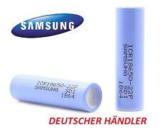 Samsung ICR18650-22P ICR 18650 - 22P  3,6V-3,7V 2200mAh Li-Ion 10A Entladestrom
