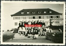 F22 Ww2 Original Photo Of German Wehrmacht Bdm League Of German Girls