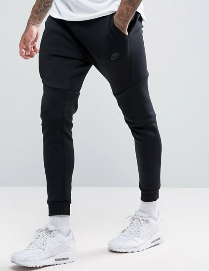 Nike Tech Fleece Men S Joggers Size Xxl 805162 010 Black For Sale Online