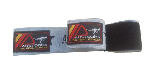 Austodex boxing cotton Bandages pair Hand Wraps Guards MMA UFC Wrist straps 4m