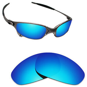 Scratch-Proof-Polarized-Replacement-Lenses-for-Oakley-Juliet-Sunglass-Ice-Blue
