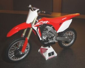 Miniatura 1:18 modelo honda Cross Motocross Enduro MX Cross