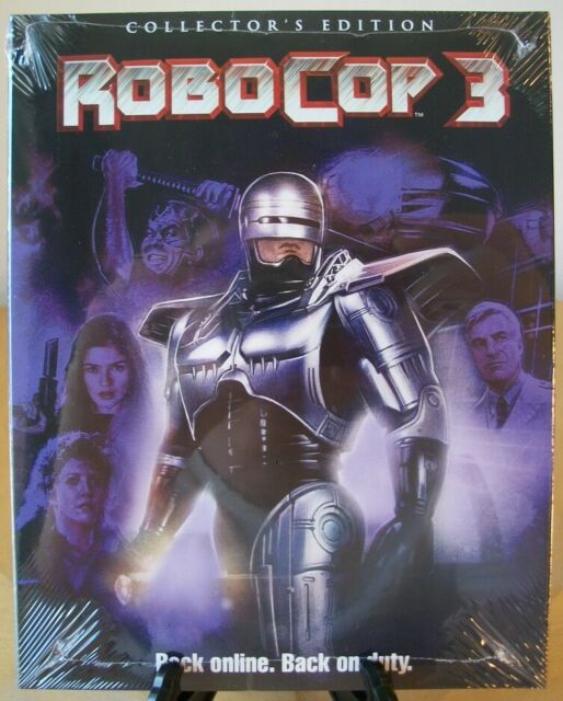 Robocop 3 (Blu-ray Disc, 2017, Collectors Edition)