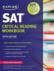 Kaplan SAT Critical Reading Workbook by Kaplan (Paperback, 2014)