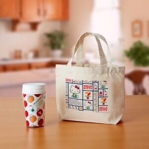 Seven - Eleven × Hello Kitty Lunch Tote Bag with Tumbler Bottle SANRIO