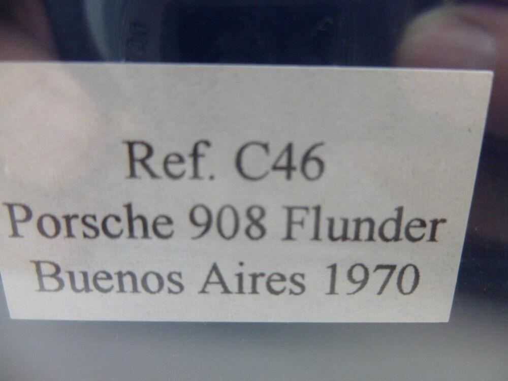 Fly C46 PORSCHE 908 908 908 Poissons Plats Buenos Aires 1970, Comme neuf Inutilisé a4deb2