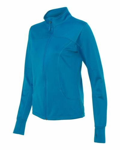 Independent Trading Women/'s Poly-Tech Full-Zip Track Jacket EXP60PAZ up to 3XL