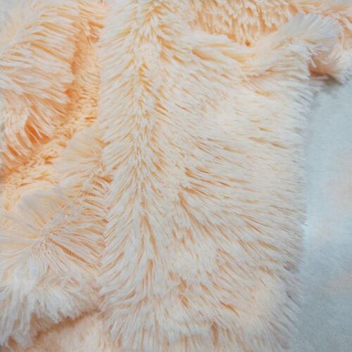 50x160cm Kunstpelz Samt Plüsch Stoff Home  Mat Polyester Flauschige DIY Kleidung