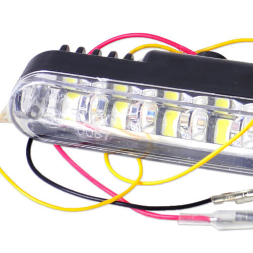 Paar 30 LED DRL Super Hell DC 12V Auto Tagfahrlicht Blinker Lampe Scheinwerfer