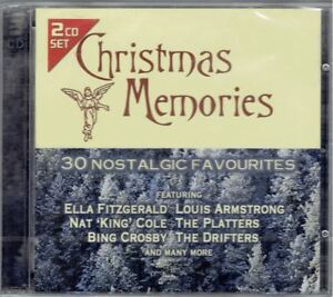 Christmas-Memories-2-CD-Music-xmas-NEW-30-nostalgic-favourites-Drifters-Platters