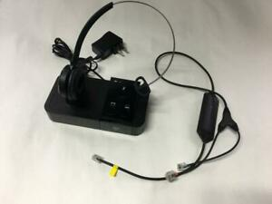 Jabra Pro 9400bs Wireless Headset Charging Station Ebay
