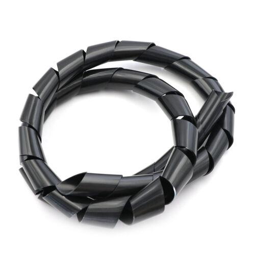 8,5 m 10 mm Kabel Spiral Wrap ordentlich Kabel Kabelbinder Webstuhl Lagerun AP