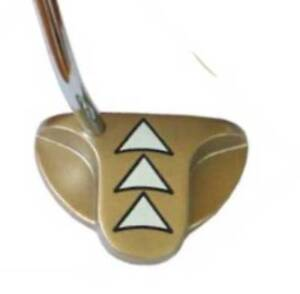 New-3-Arrow-Mallet-Putter-Triple-Bent-Shaft-35-034-RIGHT-HANDED