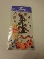 Scrapbooking Crafts Disney Stickers Winnie Pooh Tigger Christmas Tree Ornaments