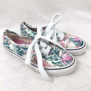 Vans Old Skool Pink \u0026 Green Tropical