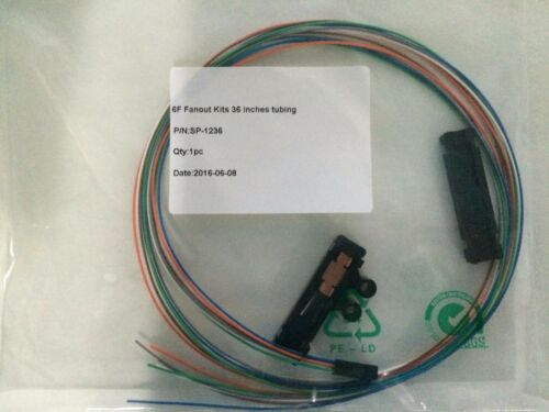 Buffer Tube Fan-Out Kit 12 strand break out kit corning equal