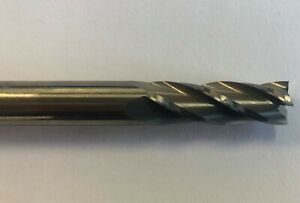 """740-3750 .372/"""" 4 FLUTE NEW  /""""CGS/"""" CARBIDE SQUARE END MILL"""