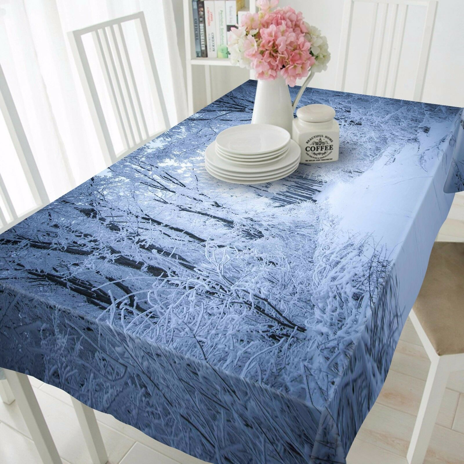 3D Snow 4678 Tablecloth Table Cover Cloth Birthday Party Event AJ WALLPAPER AU