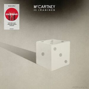 Paul McCartney- III Imagined Exclusive Limited Silver Colored Vinyl LP Alt Cover