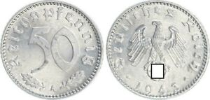 Third Reich 50 Pfennig 1941 A Xf-Bu / Prfr. (4) 35635